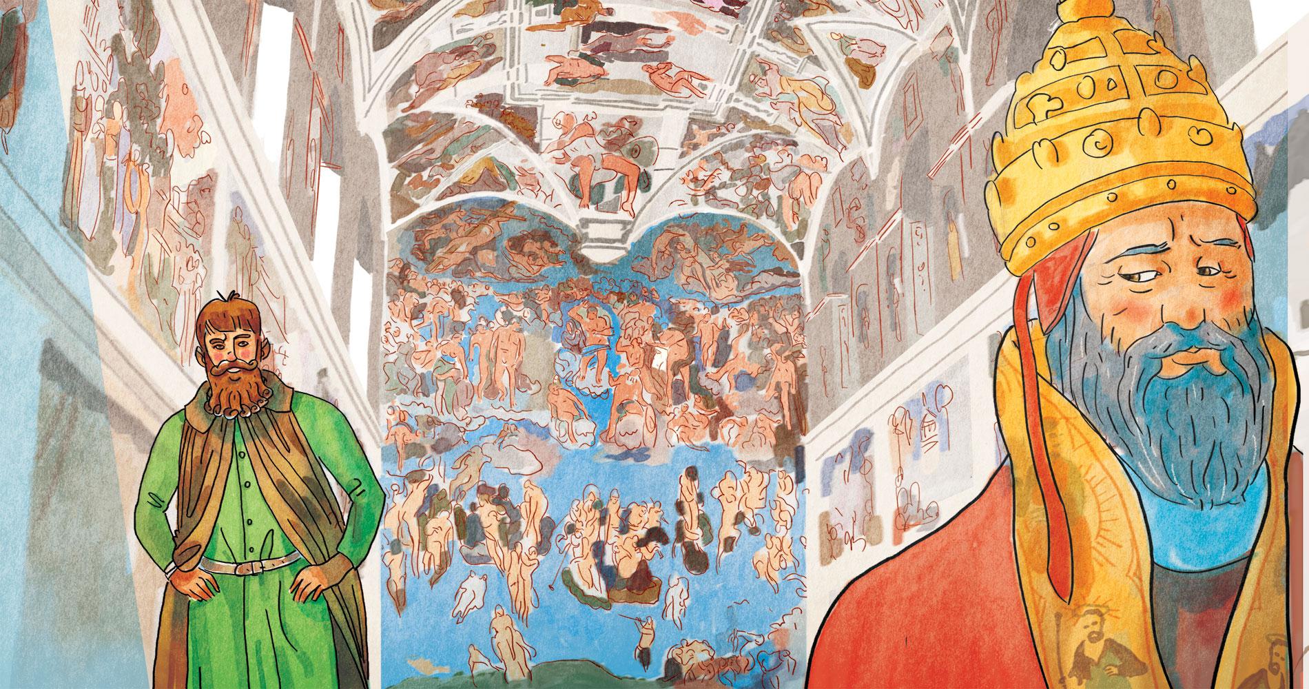 Cristiano Lissoni, Michelangelo, Edizioni EL