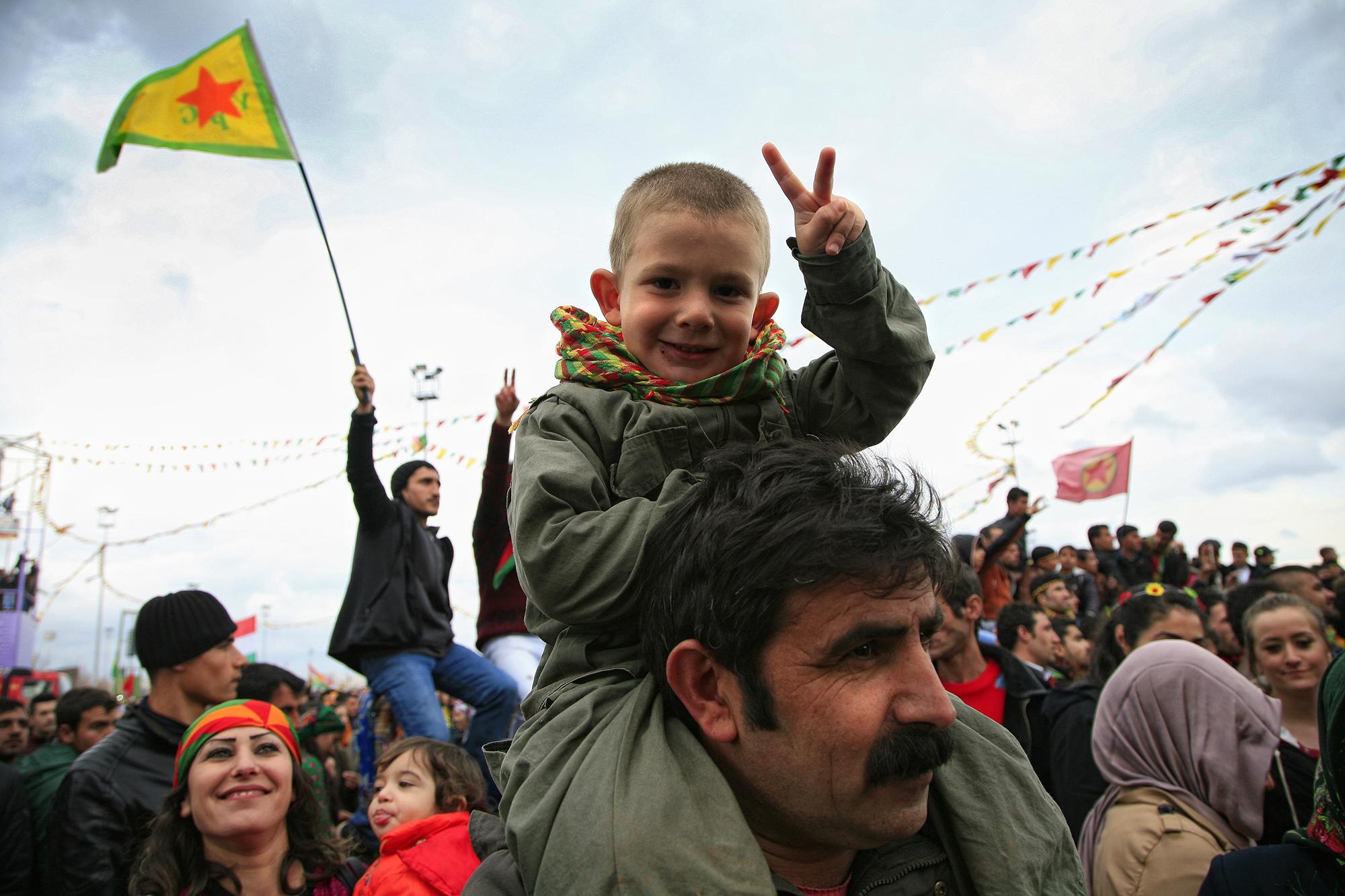 Cristiano Lissoni, Kurdistan
